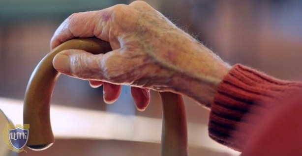 Рука с тростью